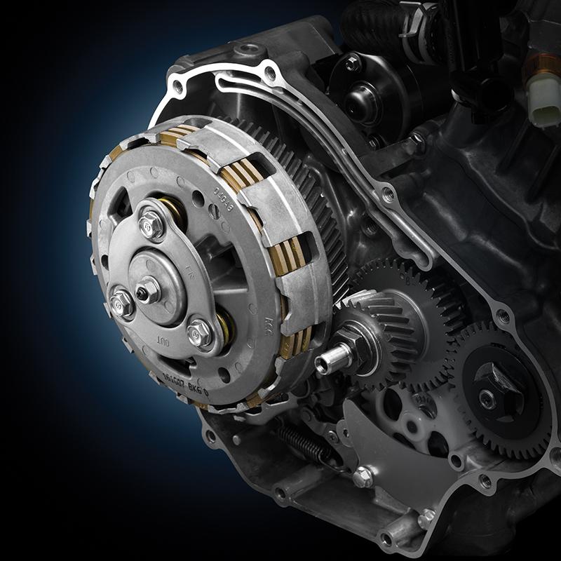 ระบบสลิปเปอร์คลัตช์สุดล้ำ ครั้งแรกในรถ 155 ซีซี