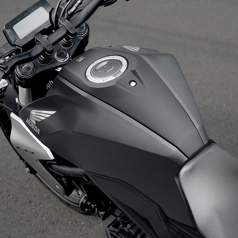 Tapered Rubber-Mounted Handlebar