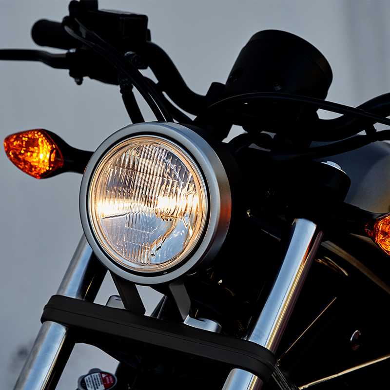ROUND HEADLIGHT