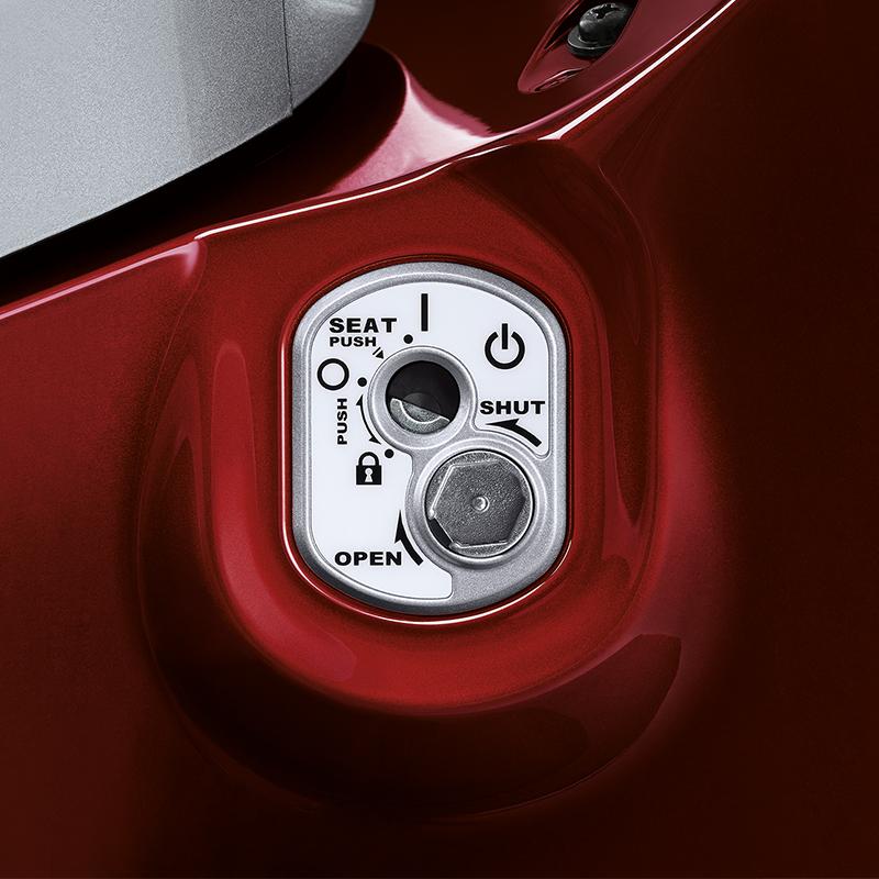 Seat Opener + Key Shutter