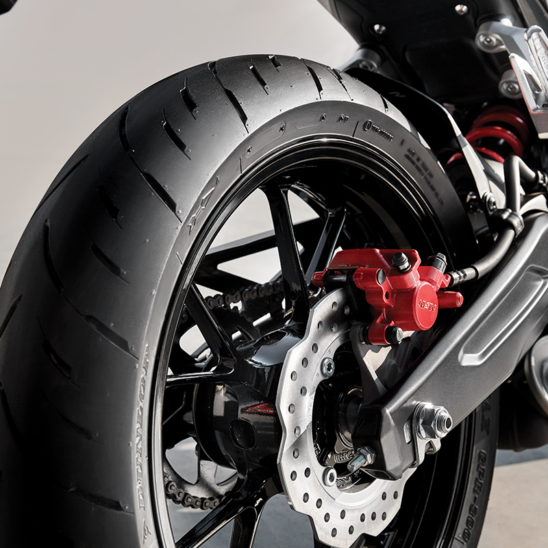 150 mm Stability Wide Rear Tire