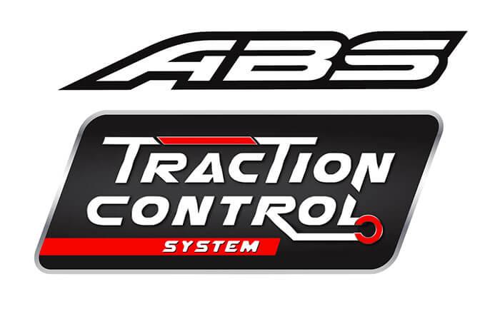 ระบบเบรก ABS พร้อม Traction Control System (TCS)