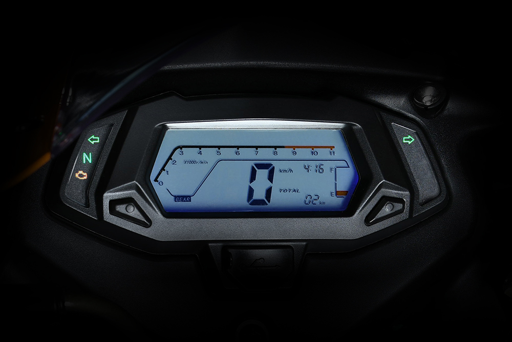 FULL LCD DIGITAL DISPLAY