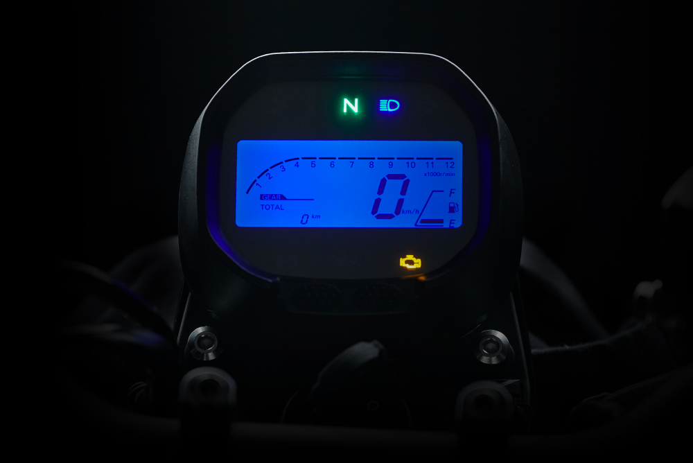 LCD digital control