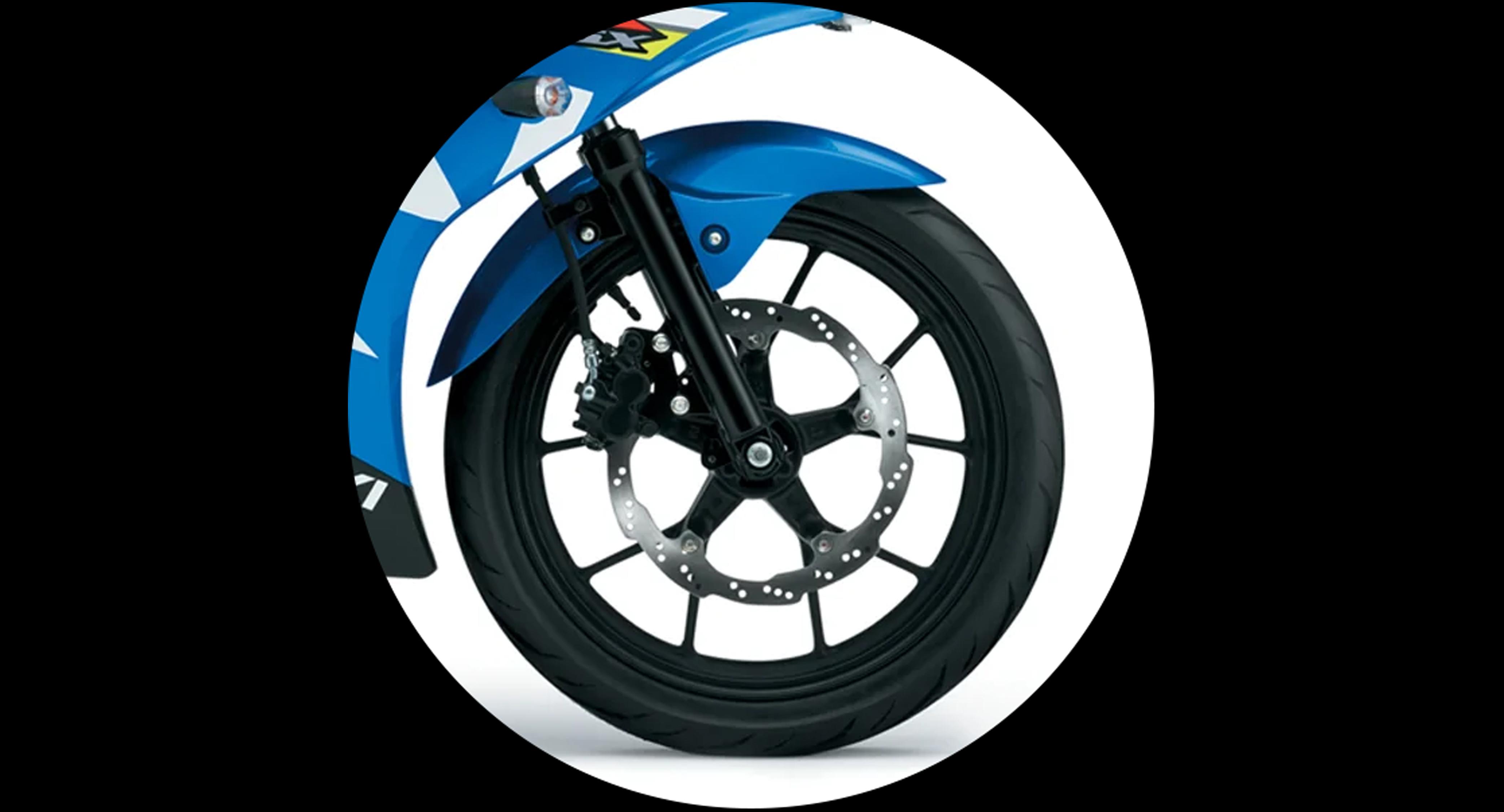 Disc Brake and Tubeless Tire and 10 Spoke Wheel