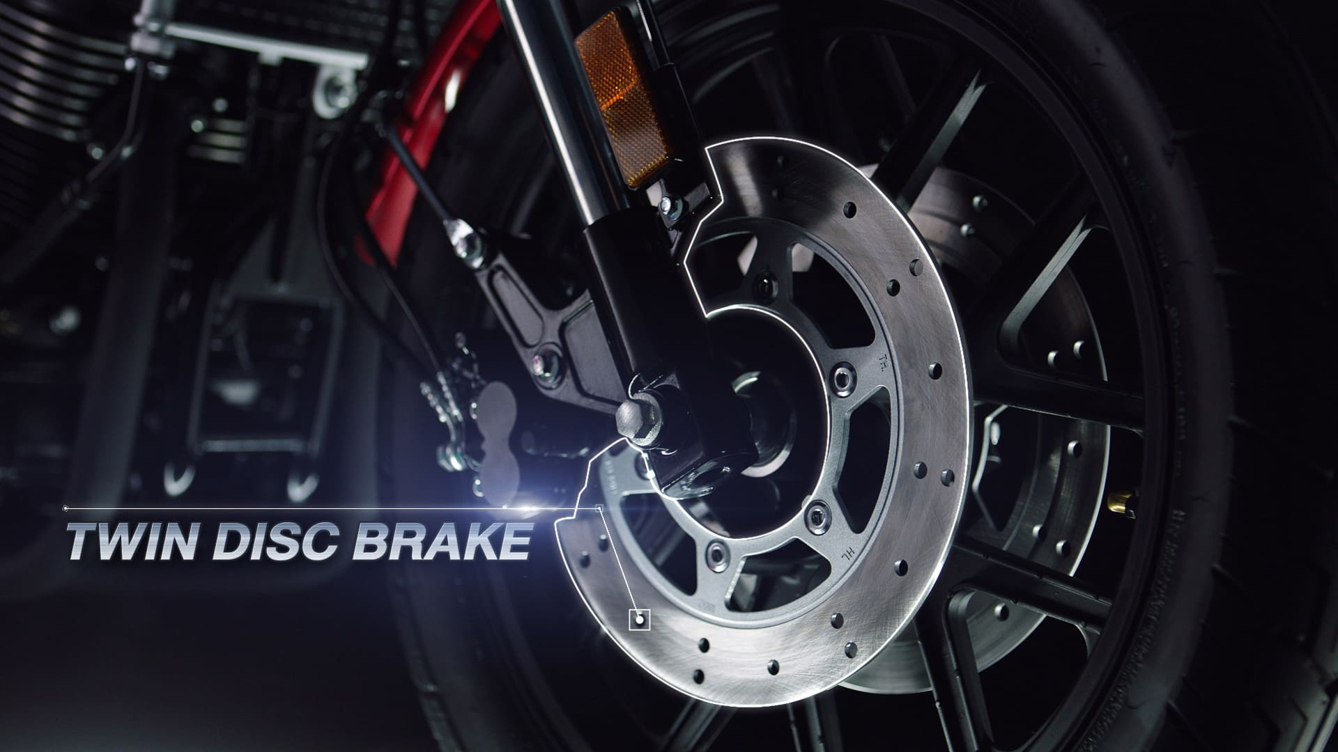 Front Twin-Disc brake