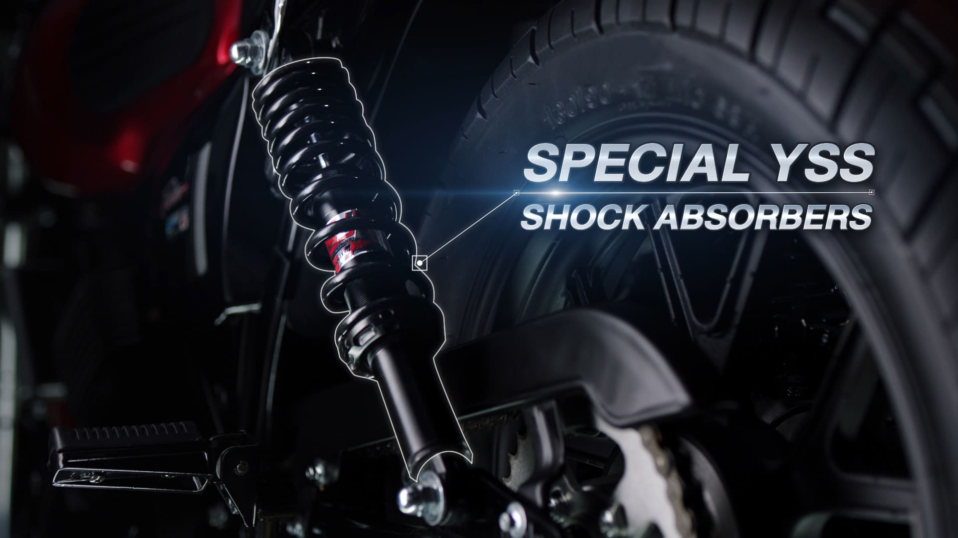 Special Yss Shock absorbers