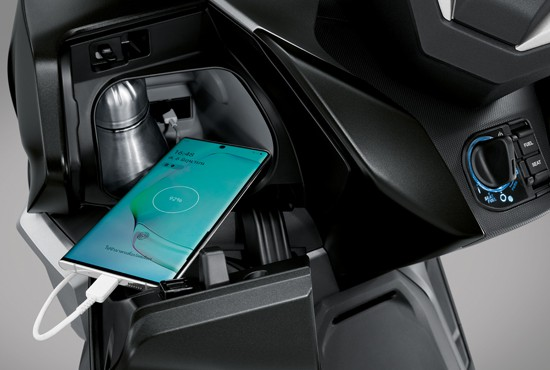 In-console USB Charger & Bottle Holder