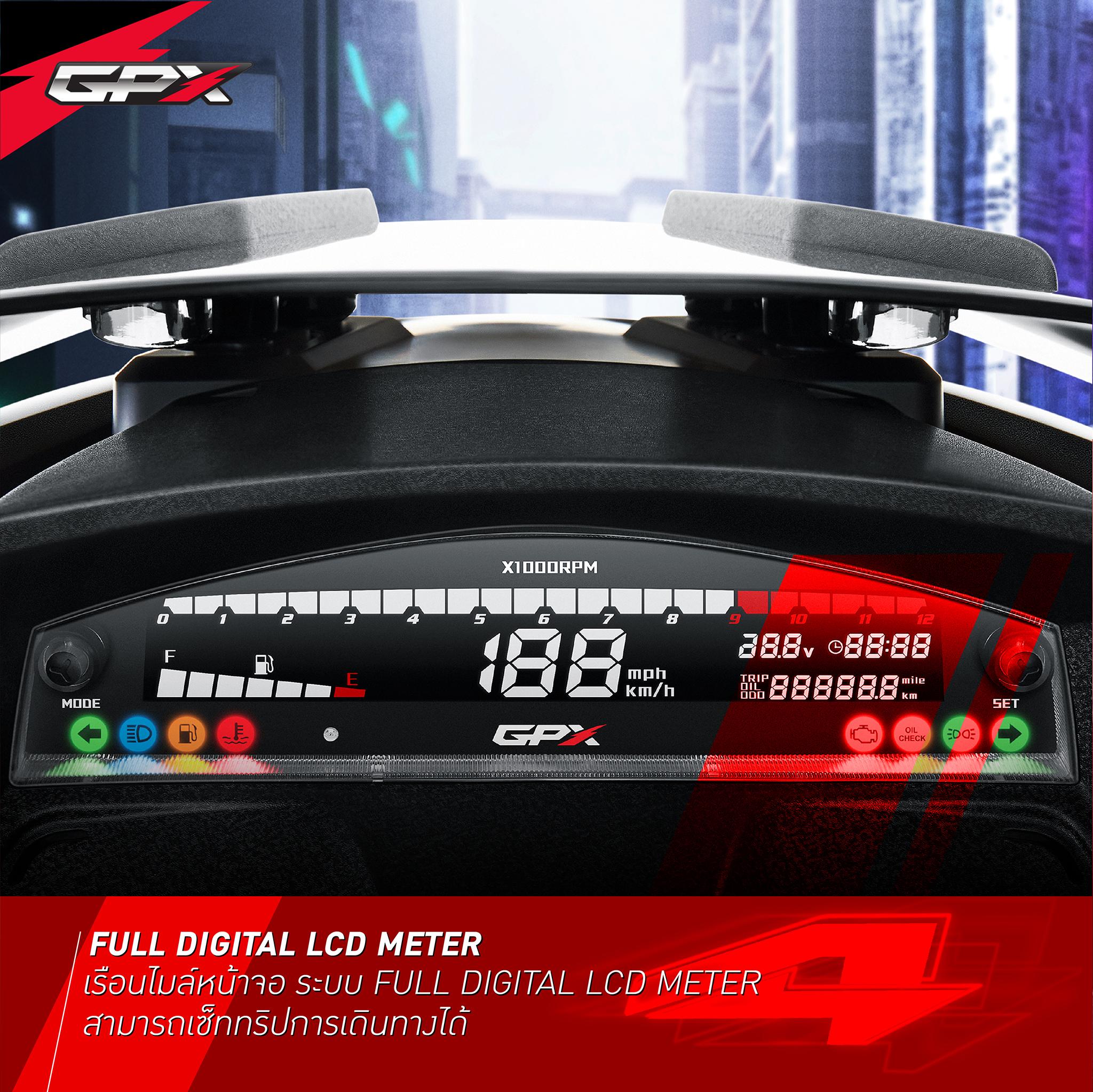 FULL DIGITAL LCD METER
