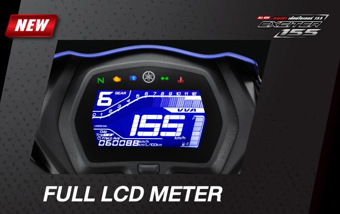 Full LCD Meter