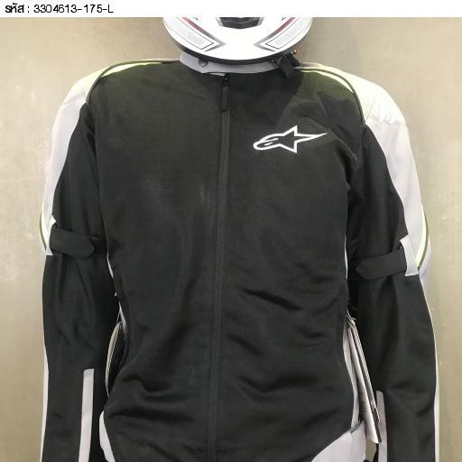 เสื้อแจ็คเก็ต Alpinestars Haze Air ดำเทาเหลือง size L